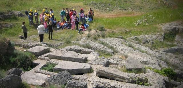 Corso di Archeologia per ragazzi - 2013 - Ugento