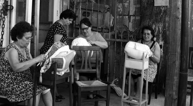 Corso di Giunchi - Tombolo e Macramè - Associazione anziani E. Pasanisi Torrepaduli